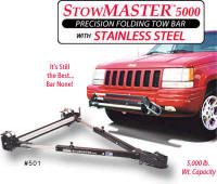Car or Truck Tow Bars - Click Here